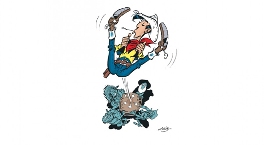 lucky luke -la-terre-promise-tome-7-illustration-1