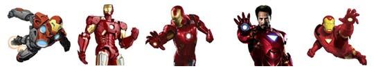 Personnage Iron Man