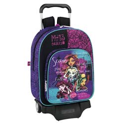 Sac a dos trolley à roulettes Monster High