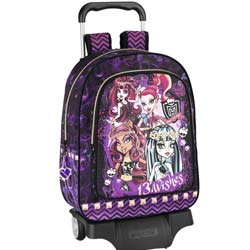 Cartable trolley monster high