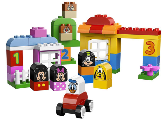 lego duplo mickey détail