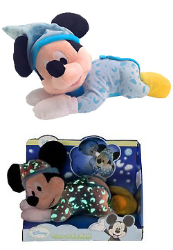 peluche mickey glow in the dark