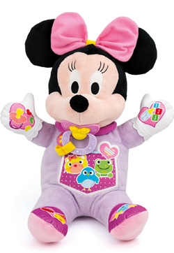 peluche minnie baby interactive