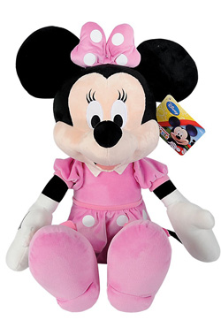 peluche minnie rose