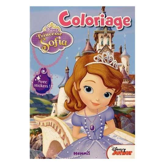 livre coloriage princesse sofia