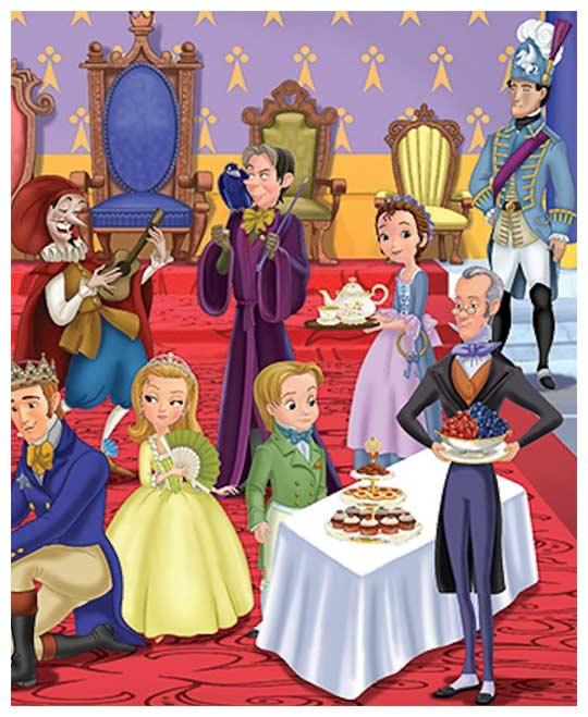 Princesse sofia saison 1 pisodes 13 23 - Coloriage princesse ambre ...