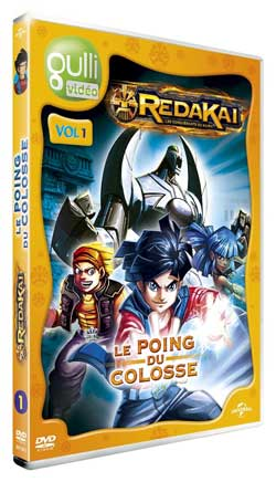 Redakai DVD Volume 1 - le poing du colosse