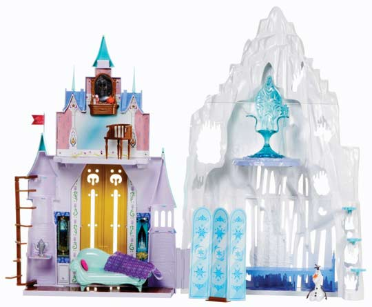 Reine des neiges poup es peluches jouets d guisements for Chateau de la reine des neige