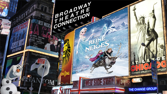 LA reine des neiges à Broadway