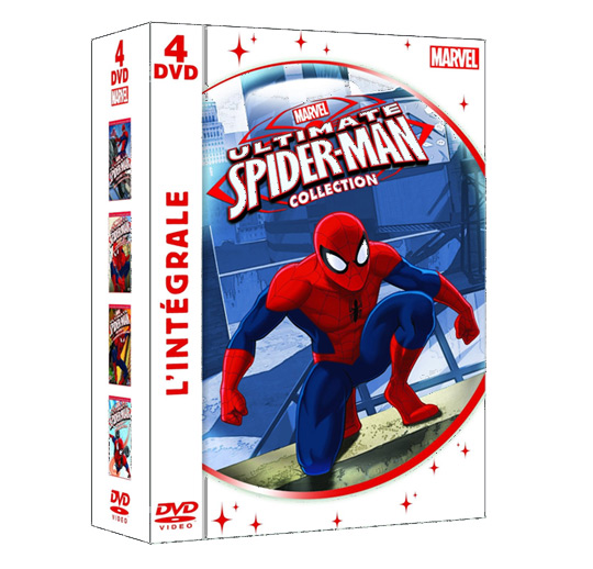 The ultimate spiderman - Coffret 4 DVD