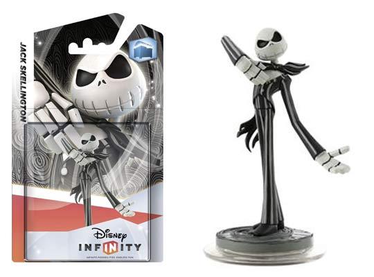 """Disney Infinity! Figurines """" Jack Skellington """". Pofcorn"""
