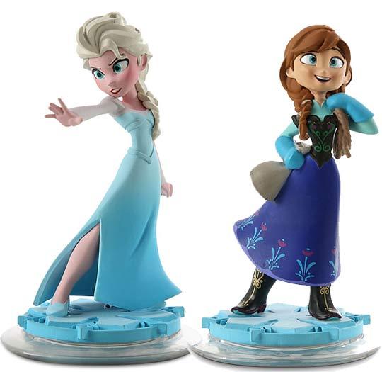 Disney infinity la reine des neiges frozen - Anna elsa reine des neiges ...