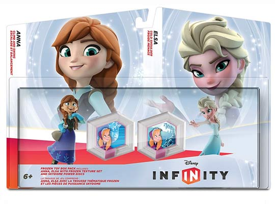 figurine reine des neiges disney infinity