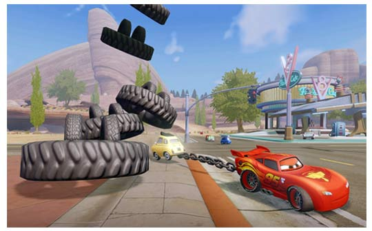 Disney-infinity pack aventure cars - Flash McQueen