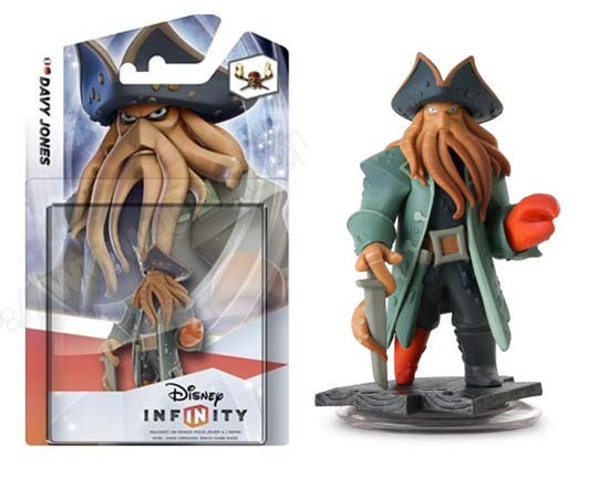 Disney-infinity figurine Davy Jones