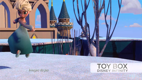 Disney Infinity - Figurine Elsa - illustration mode toy Box