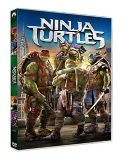 DVD Ninja Turtles