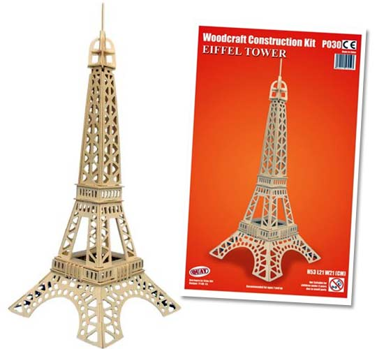 Assez Tour Eiffel - Reproduction de monuments et jeux de construction VE67