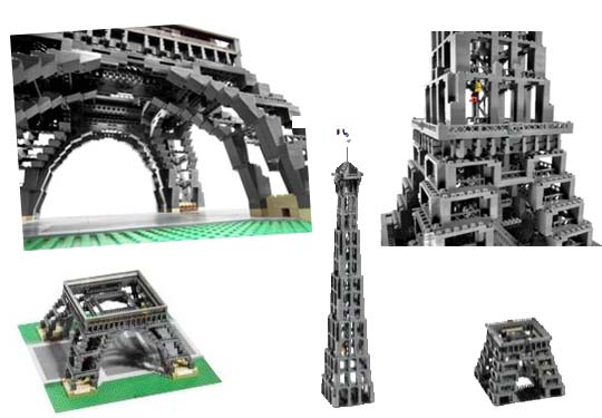 tour eiffel lego mod le 10181. Black Bedroom Furniture Sets. Home Design Ideas