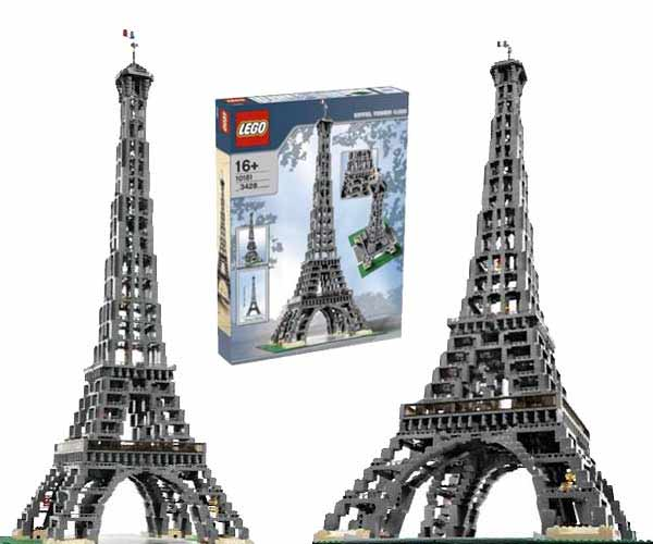 Lego collezionisti 10181 torre eiffel nuovo raro ebay - Lego architecture tour de pise ...