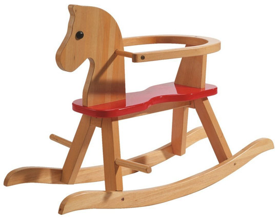 Cheval à bascule en bois roba