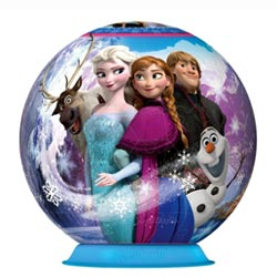Puzzleball Reine des neiges