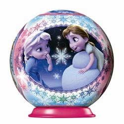 Puzzlebal reine des neiges