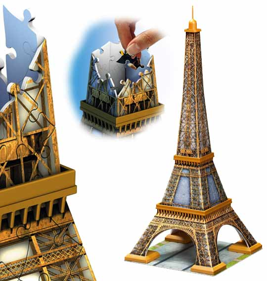 puzzle 3d les grands monument en puzzle 3d ravensburger. Black Bedroom Furniture Sets. Home Design Ideas