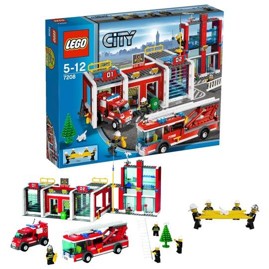 lego pompier s lection lego sur le th me des pompiers. Black Bedroom Furniture Sets. Home Design Ideas