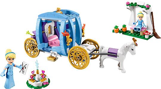 Lego disney princess les princeses disney en lego - Carrosse de princesse ...