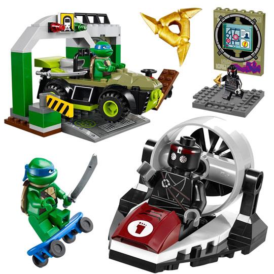 10669 lego juniors repaire des tortues ninja de lego - Le nom des tortue ninja ...
