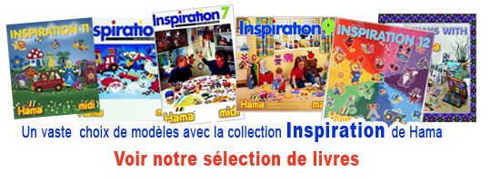 Livres collection Inspiration Hama