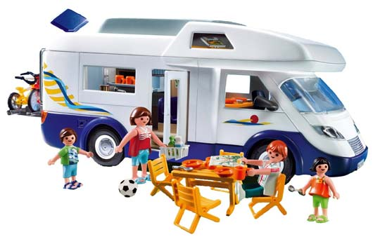 playmobil camping car. Black Bedroom Furniture Sets. Home Design Ideas