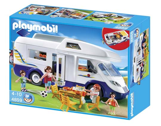 Playmobil - grand camping car familial -4859