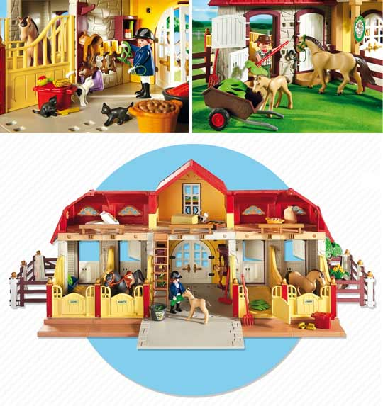 haras playmobil. Black Bedroom Furniture Sets. Home Design Ideas