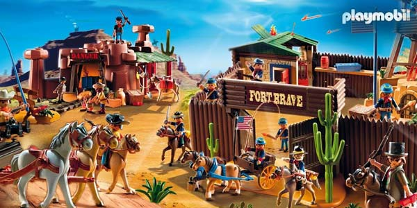 playmobil western et far west. Black Bedroom Furniture Sets. Home Design Ideas