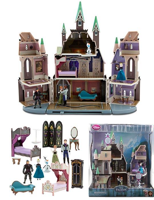 Reine des neiges poup es peluches figurines jouets - Chateau de la reine des neige ...