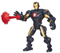Super Hero Mashers - Iron-Man Armure Noire et Or