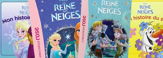 Illustration Reine des neiges