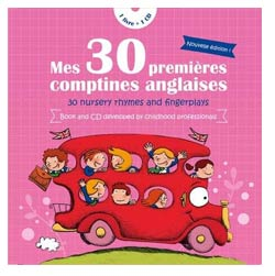 Mes 30 premieres comptines anglaises