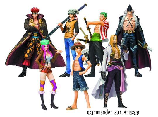 One piece pack 8 figurines