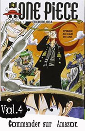 One piece manga volume 4