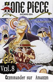 One piece manga volume 8