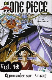 One piece manga volume 10