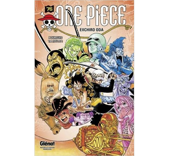 Couverture one piece N° 76
