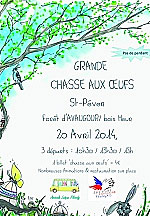 Chasse aux oeufs a saint pevers