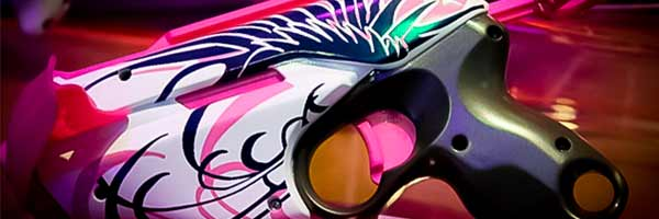 Nerf rebelle - Pistolet Pink Crush