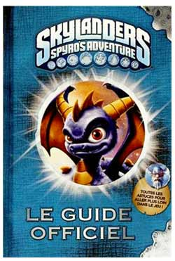 Guide officiel Skylanders Spyro's adventures
