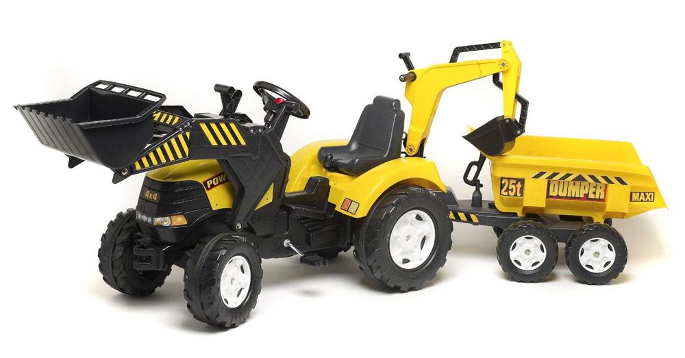 Tracteur p dale falk - Tracteur remorque enfant ...