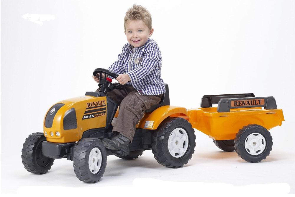 Tracteur p dale falk - Remorque tracteur enfant ...
